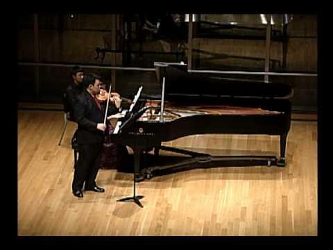 Bartok Sonata no. 1 for violin and piano, II. Adagio part 1