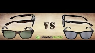 Ray-Ban vs. Oakley - Should I Buy Ray-Ban or Oakley Sunglasses?(http://www.shadesdaddy.com/ Tom from Ohio asks, What brand should I buy - Oakley or Ray-Ban sunglasses? To me, it REALLY depends on the type of lifestyle ..., 2014-10-18T17:47:36.000Z)