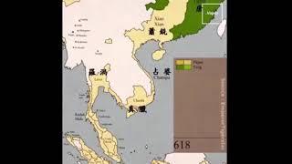 Lịch sử việt nam và các nước châu a thay đổi từ năm 553 đến nay