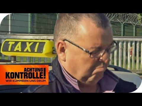 Rasender Taxifahrer: Verliert er seinen Führerschein? | Achtung Kontrolle | kabel eins