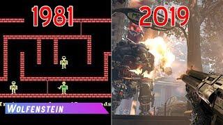 Evolution of Wolfenstein Games (1981-2019)