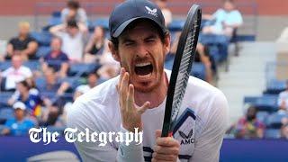 video: Andy Murray-Stefanos Tsitsipas toilet break row spills over onto Twitter after US Open clash