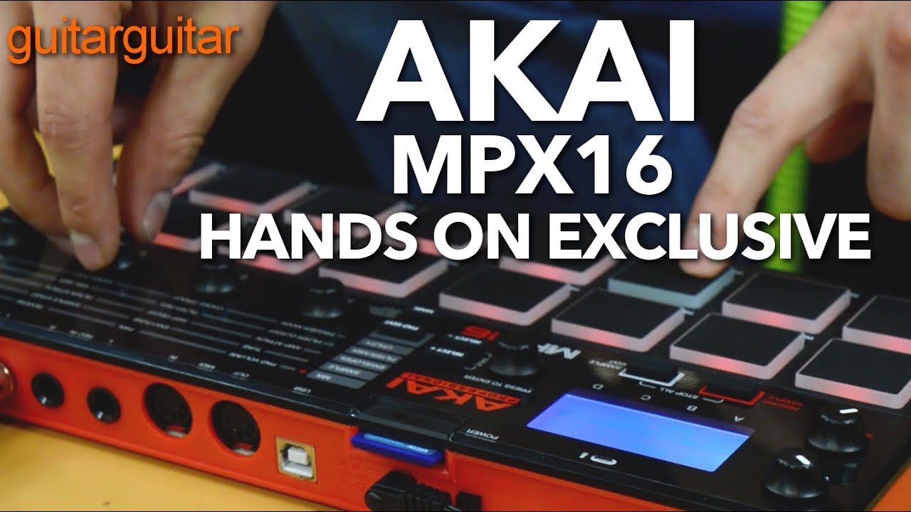 Akai MPX16 Sampler - Hands on Exclusive!