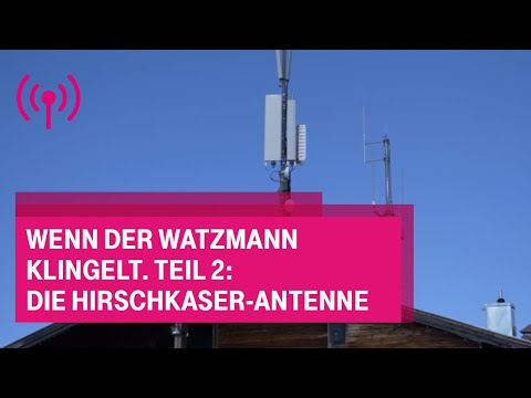 Social Media Post: Wenn der Watzmann klingelt. Teil 2: Die Hirschkaser-Antenne