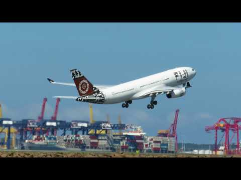 Fiji Airways Airbus A330-243 (DQ-FJV)