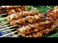 Thai Grilled Meat Skewers & Sushi - Phuket Night Market Street Food