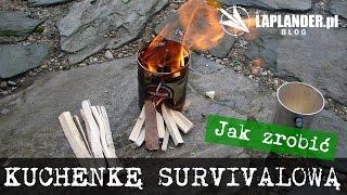 Jak zrobić kuchenkę survivalową z puszki.