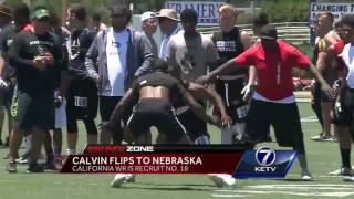 Jamire Calvin joins talented Husker Receiver Class