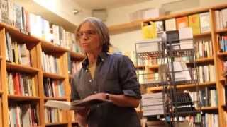 Eileen Myles reading at Bridge Street Books Washington DC on 10-4-15