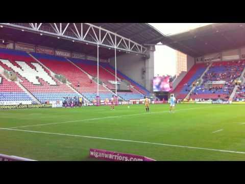 Pat Richards vs Huddersfield Giants