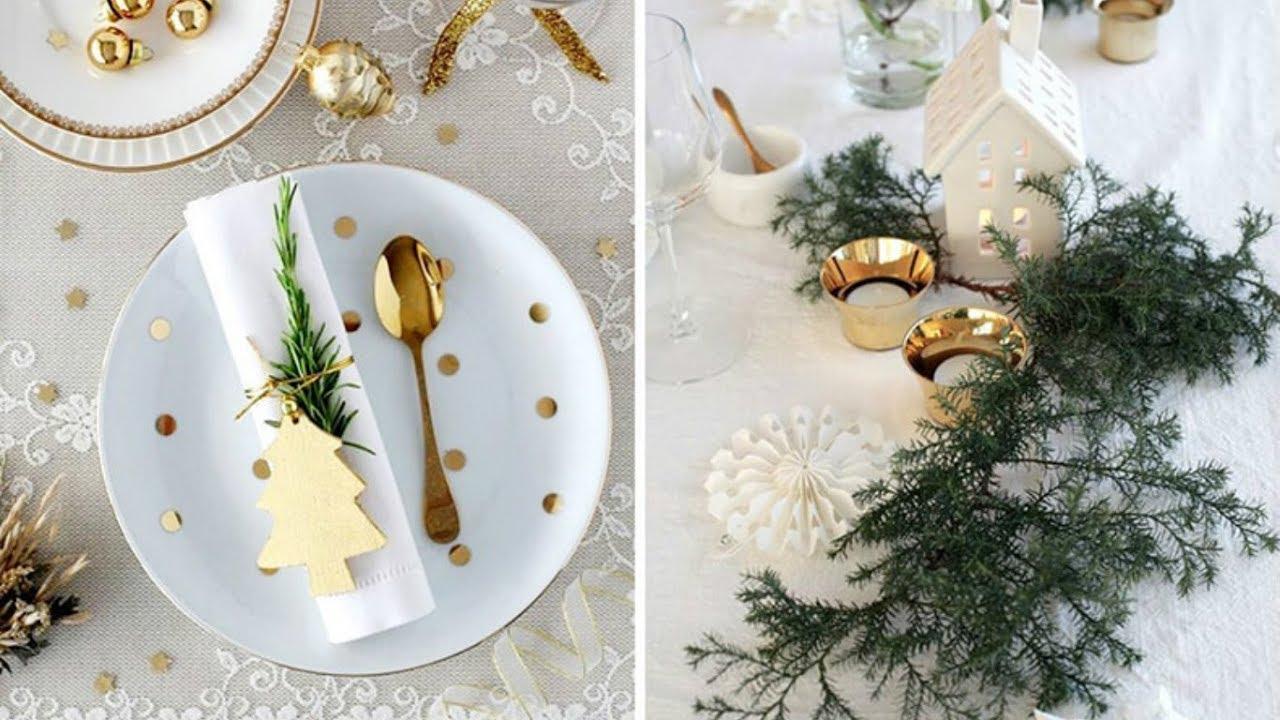 Основные правила новогодней сервировки стола