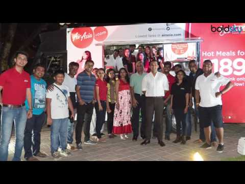 Air Asia Food truck, Santan - Flavours on Wheels launched | Danish Sait | Amar Abrol | Boldsky