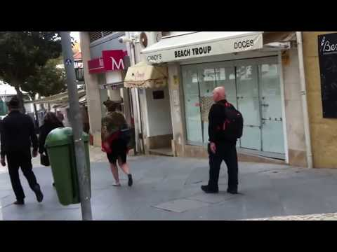 walking the streets of albufeira,old town, Portugal Travel & tour