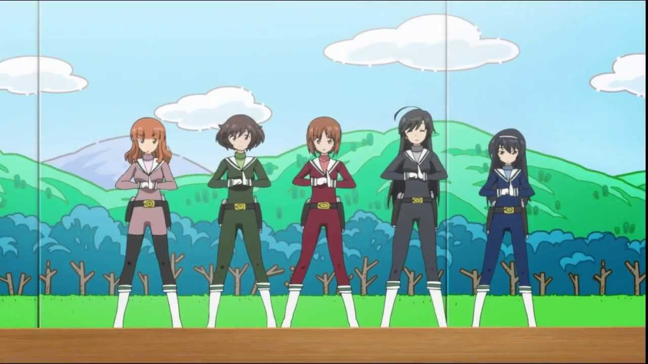 The Powerpuff Girls Wallpaper Girls Und Panzer Panzer Sentai Youtube