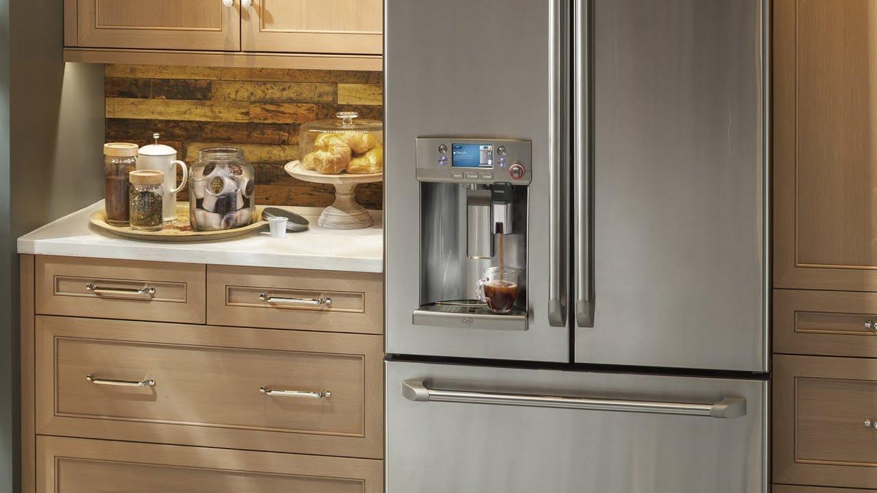 Ge Caf 233 Series French Door Refrigerator With Keurig K Cup