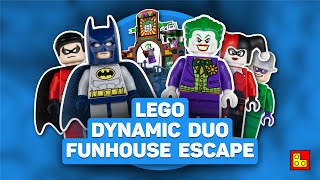 ◉ LEGO DC Super Heroes - DYNAMIC DUO Funhouse Escape┃Обзор ЛЕГО 6857 stop motion build review