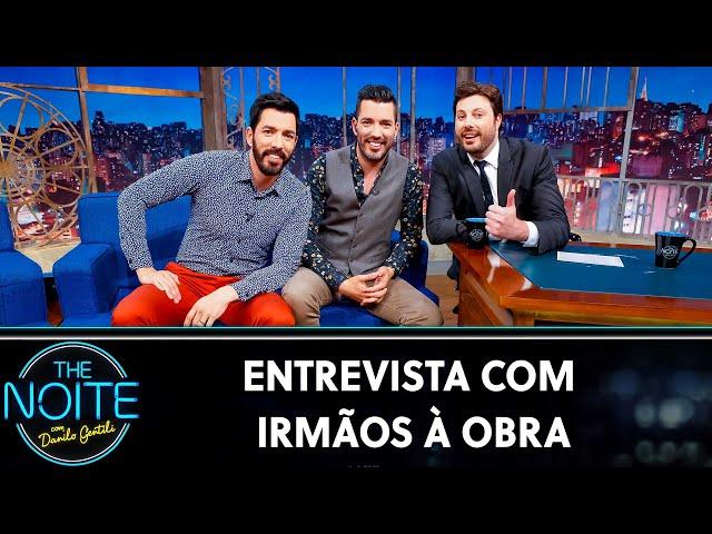 Entrevista com  Irmãos à Obra | The Noite (21/08/19)