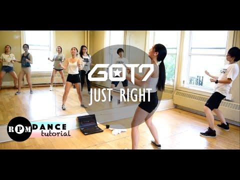 "GOT7 ""Just Right"" Dance Tutorial (Pre-Chorus, Chorus)"