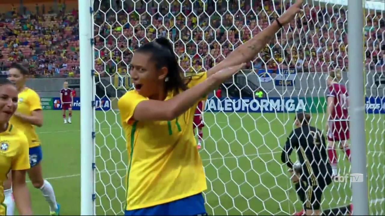 d14634ba83 Veja os gols da Seleção Brasileira Feminina contra a Rússia