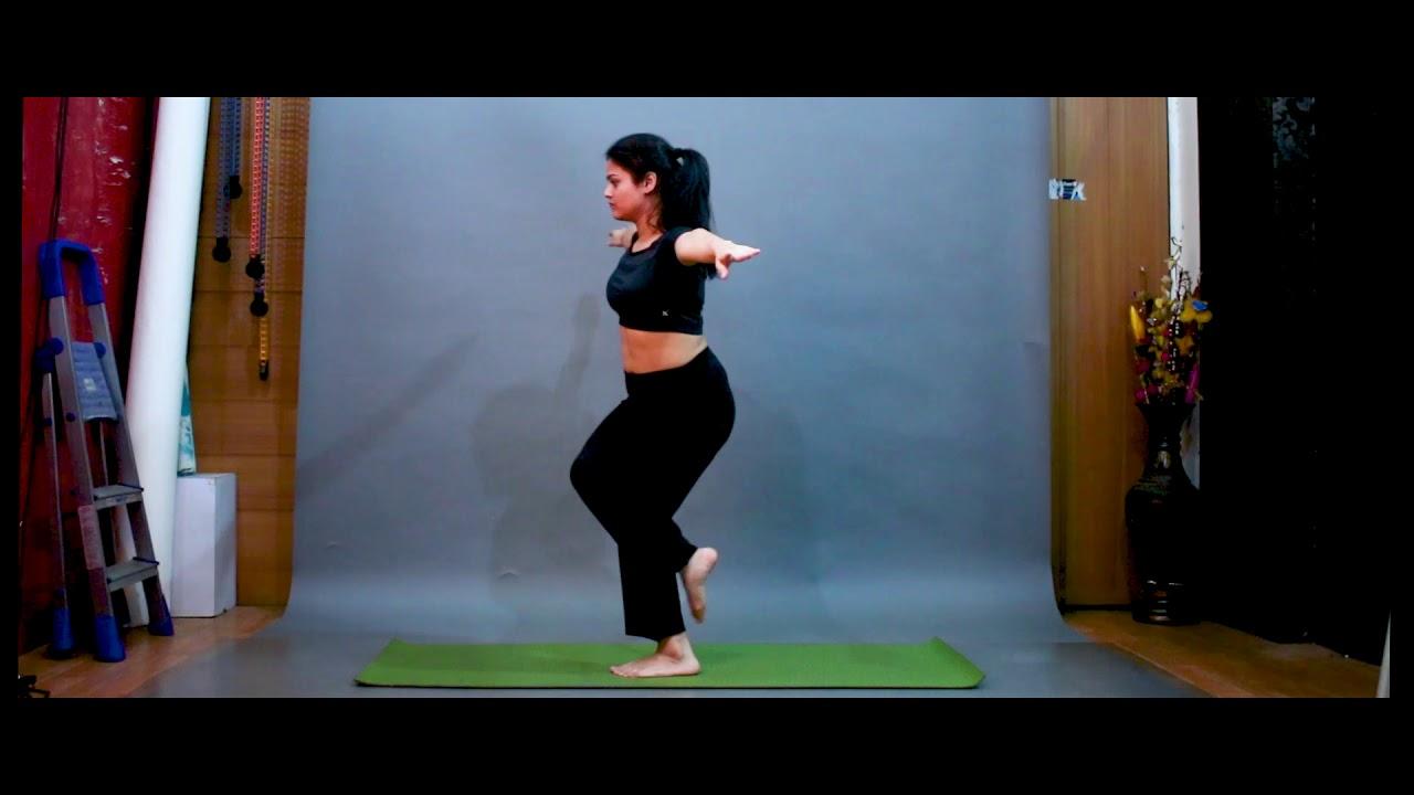 Garudasana Resembles The Position Of A