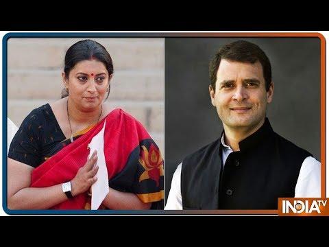 Lok Sabha Election 2019: It's Smriti Irani Vs Rahul Gandhi Round 2 In Amethi