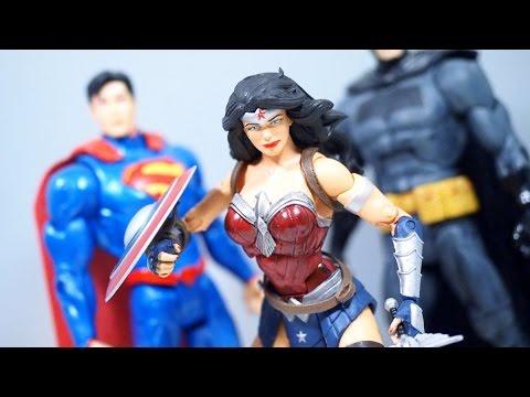 DC Icons Wonder Woman Figure Review