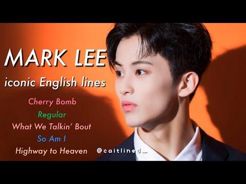 NCT Mark Lee Top 5 Iconic English Rap lyrics