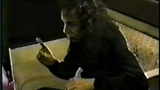 Ronnie James Dio - Brutally Honest Tour Bus Interview 1994 part 1 of 4