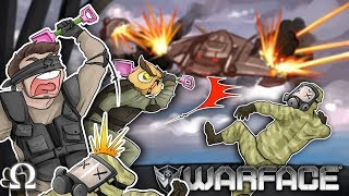 TACTICAL TOY SHOVEL SQUAD! (PRO SQUIRTER EDITION) | Warface Funny Moments Ft. Vanoss, Legiqn