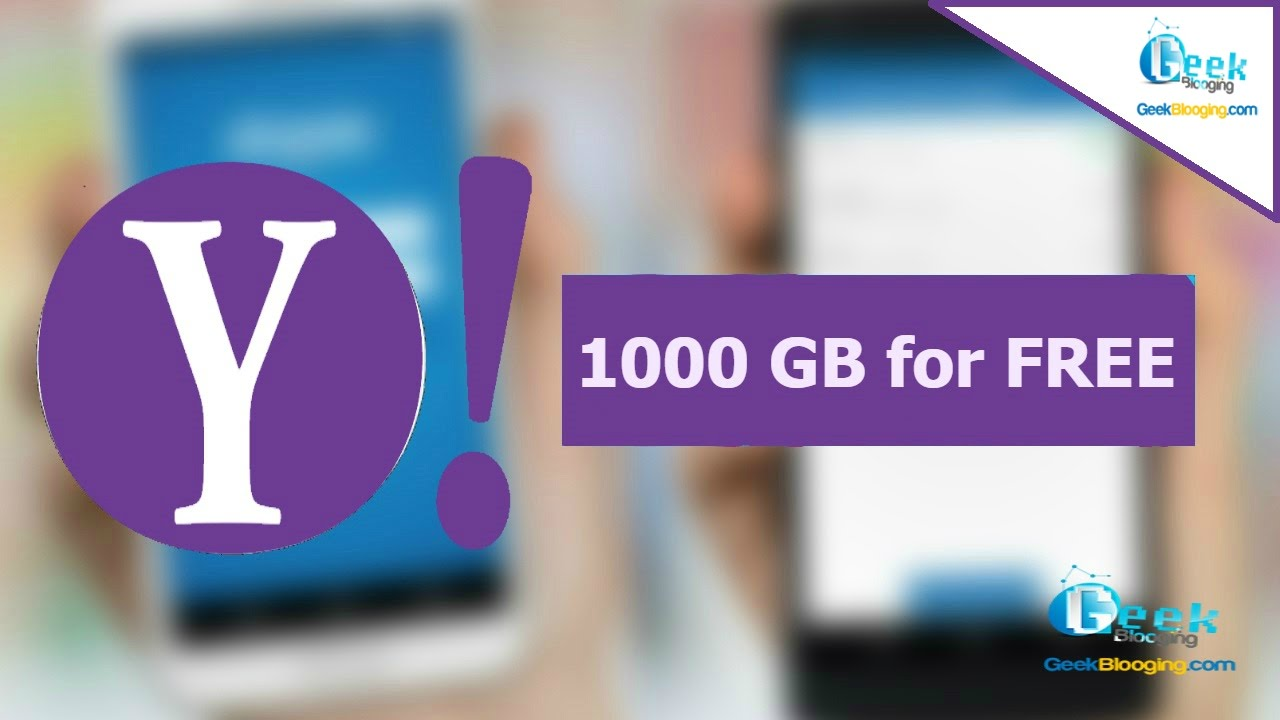Get 1000 Gb Of Cloud Storage From Yahoo For Free 2017