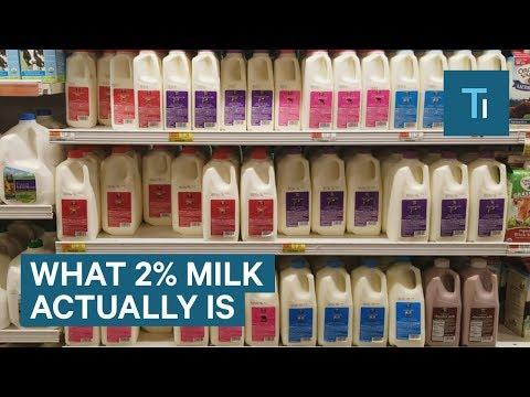 What The '2%' Actually Means In 2% Milk