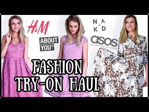 XXL TRY ON FASHION HAUL MAI 2019 - H&M, Asos, NA-KD, About You I Cindy Jane