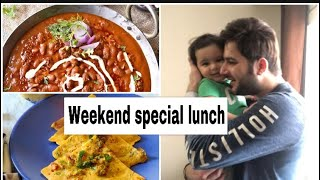 Weekend special lunch routine u0026 toddler healthy Indian meal| #hindivlogs #toddlermealideas