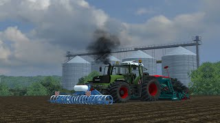farming simulator 2013 seeding on czech map v2