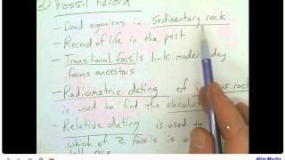 AP Biology Chapter 22 Part 2