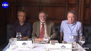 Felixstowe Book Festival 2016 -Michael Ninnmey interviews Joris Luyendijk and Ian Fraser