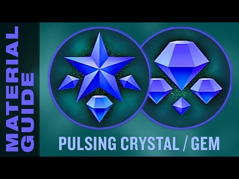 Farm Pulsing Crystals and Gems FAST in Kingdom Hearts 3 (KH3 Material Synthesis Guide)