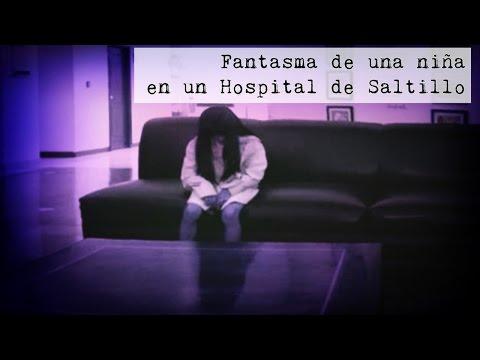 Fantasma de Niña en hospital de Saltillo (Video Paranormal)