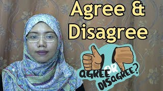[LEARN MALAY] 229-Agree and Disagree