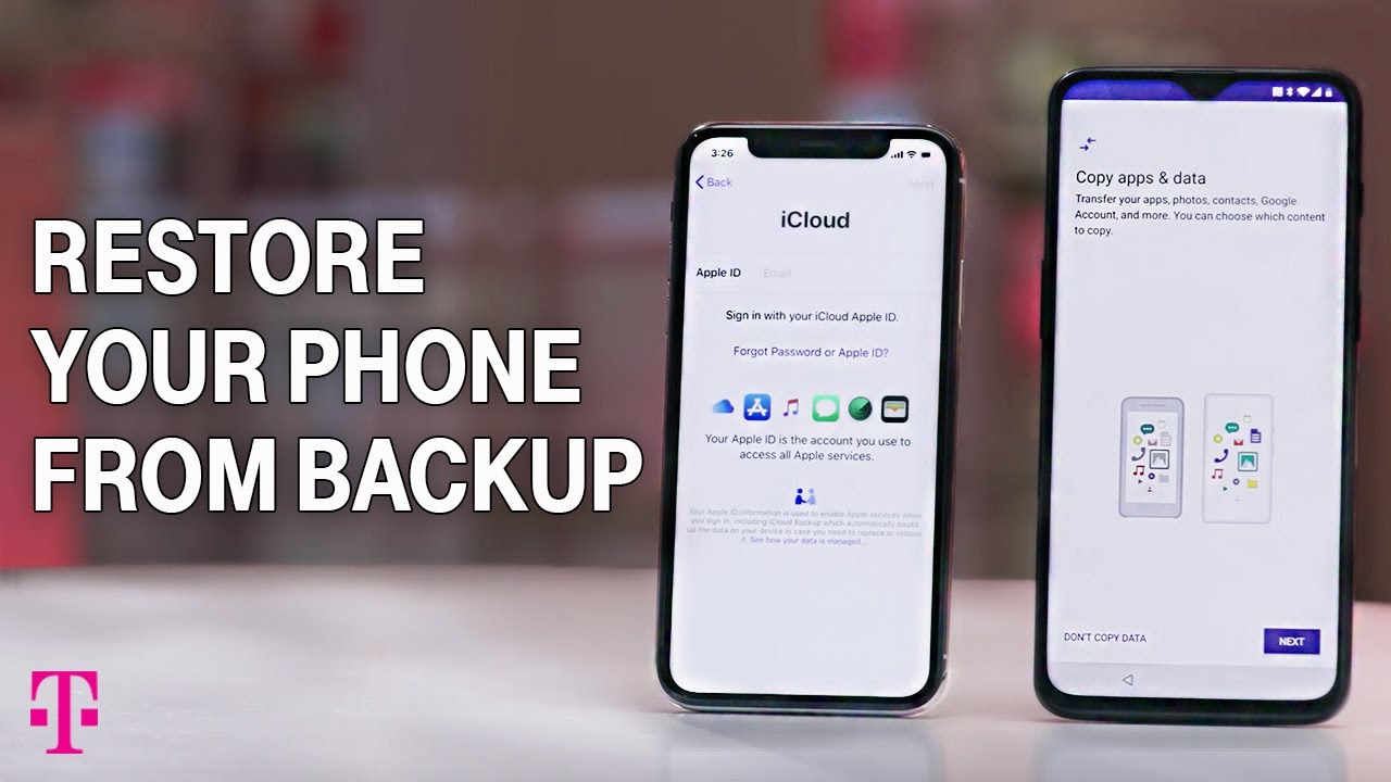 Backup & restore: Apple iPhone & iPad o    | T-Mobile Support