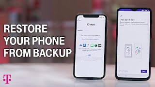 How to Restore iPhone from iCloud & Android from Google | T-Mobile