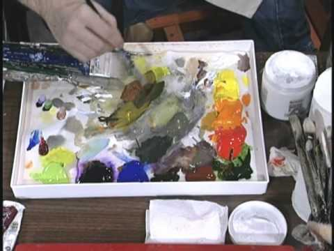 Jerry Yarnell teaches color mixing w/color wheel (29 min episode)