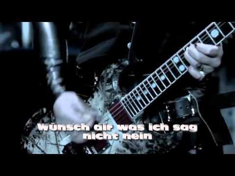 RAMMSTEIN - Ich tu dir weh / Instrumental with Lyrics ( Karaoke )