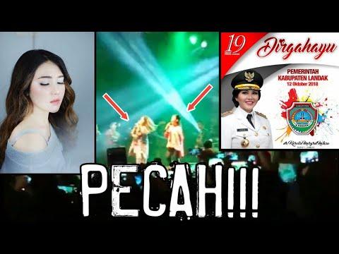 Via Vallen - Sayang Feat Dr Karolin (Bupati Landak) Live at ngabang Kalimantan Barat.   #ViaVallen