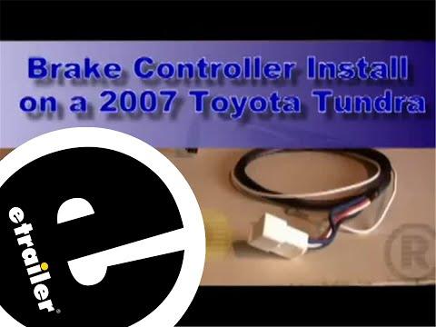 trailer brake controller toyota tundra discussion forum  trailer brake controller installation