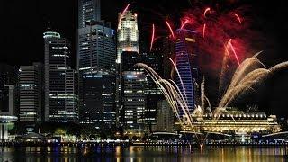 #743. Сингапур (Сингапур) (классное видео)(Самые красивые и большие города мира. Лучшие достопримечательности крупнейших мегаполисов. Великолепные..., 2014-07-03T03:18:53.000Z)