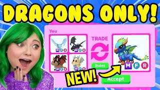 Download TRADING ONLY *MEGA LEGENDARY DRAGONS* in ADOPT ME ROBLOX! *RICH TRADE SERVER* Adopt Me Trading