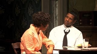 Denzel Washington Interview 2014: Actor Takes Broadway by Storm in Raisin in the Sun