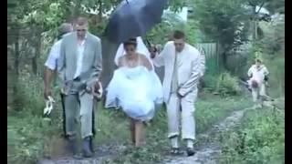 прикол, свадьба в деревне Лащевский  funny wedding in the village