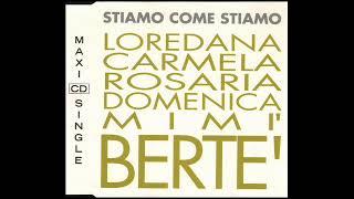 Loredana Bertè Mia Martini Stiamo come stiamo Festival di Sanremo 1993